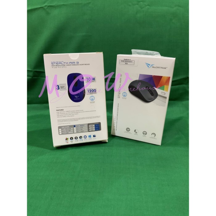 Foto Produk Alcatroz Wireless Mouse Stealth Air 3 Silent Air Mouse dari MyOnlineWarehouse (MOW)