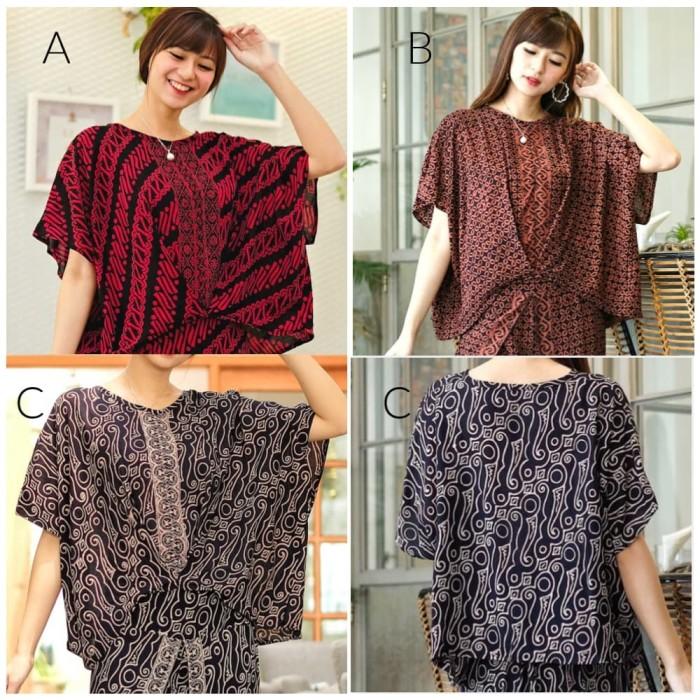 Foto Produk Batik Blouse Cbt. Atasan Blus Wanita Banyak Motif. Bukan Kombinasi - Motif A dari Batik Universal