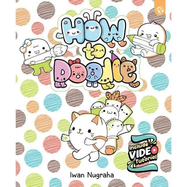 Foto Produk [Buku] How To Doodle - Iwan Nugraha dari ombotak