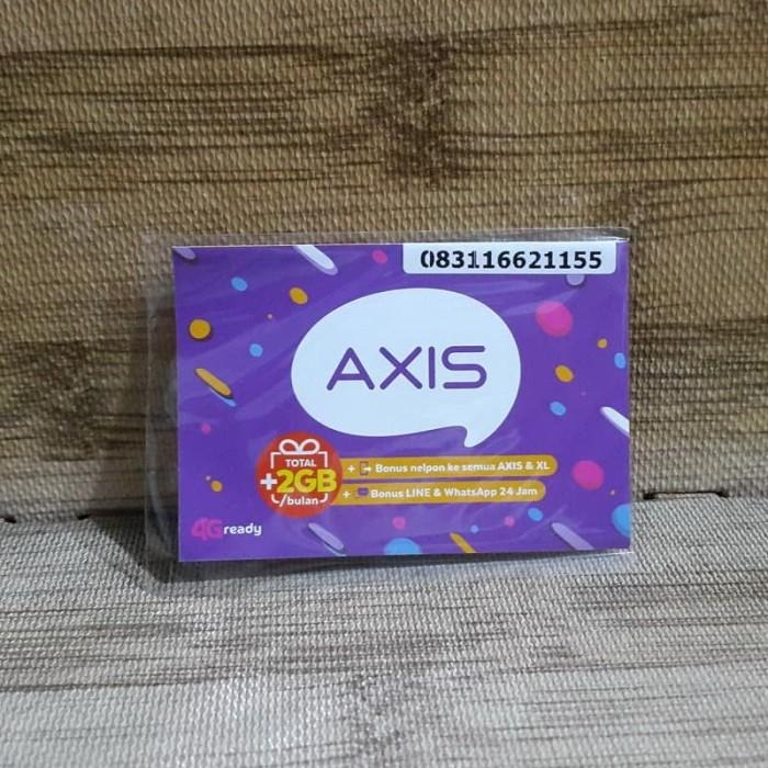 Foto Produk Nomor Cantik Axis 1662 1155 Kartu Perdana Axis 4G Ready 30 Nov 2020 dari idStoreplus