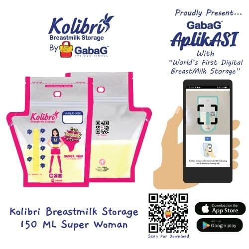 Foto Produk Kolibri - Kantong Asi 150ML Super Mom By Gabag dari GabaG Indonesia