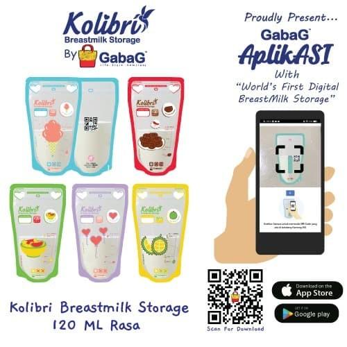 Foto Produk KOLIBRI - KANTONG ASI GABAG 120 CC dari GabaG Indonesia