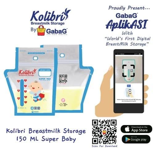 Foto Produk Kolibri - Kantong Asi Gabag 150ML Super Baby By Gabag dari GabaG Indonesia