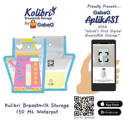 Foto Produk KOLIBRI - Kantong Asi Gabag 150 cc WATER POT dari GabaG Indonesia