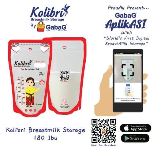 Foto Produk Kolibri - Kantong Asi 180ML BATIK BY GABAG dari GabaG Indonesia