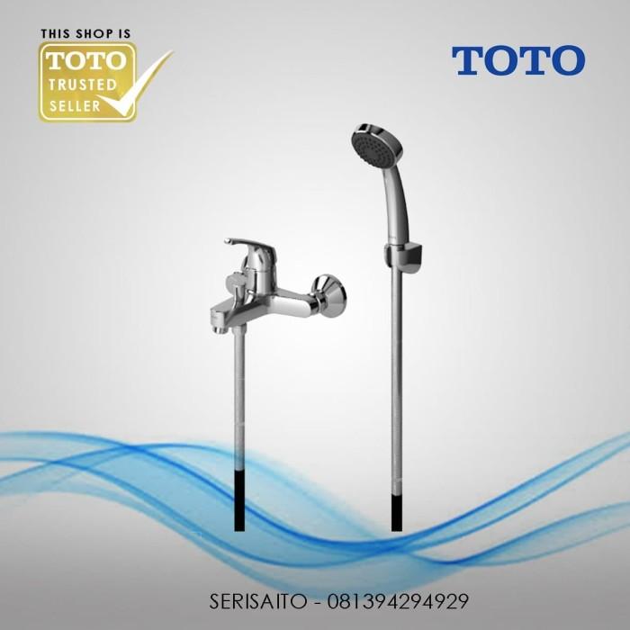 Foto Produk Keran Panas Dingin Shower TOTO TX432SDN / Kran Air Bathtub Mixer dari serisaito