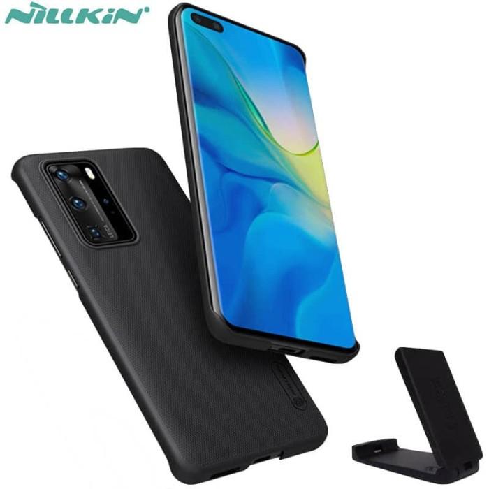 Foto Produk Nillkin Hard Case Huawei P40 Pro - Frosted Shield Black Casing Ori dari Logay Accessories