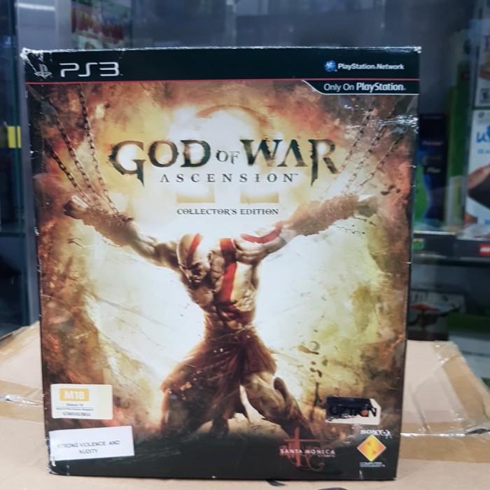 Jual Ps3 God Of War Ascension Collector Edition Jakarta Barat Tgmta Tokopedia
