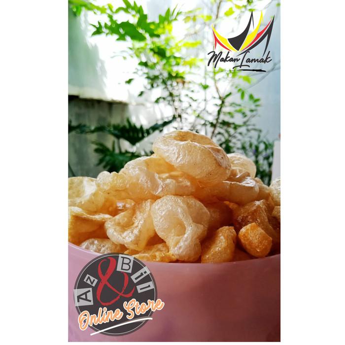 Foto Produk Kerupuk Kulit Sapi Mentah (Jangek) Asli Bukittingi 500 gram dari Azra Shop Online