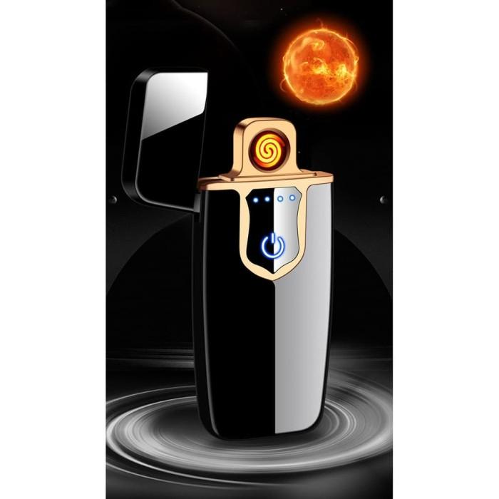 Jual Korek Api Elektrik Fingerprint Touch Sensor - Kota ...