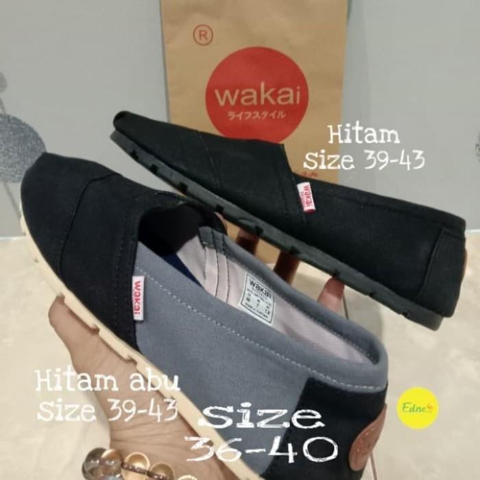 Foto Produk sepatu Wakai slip on pria dari Edneceria