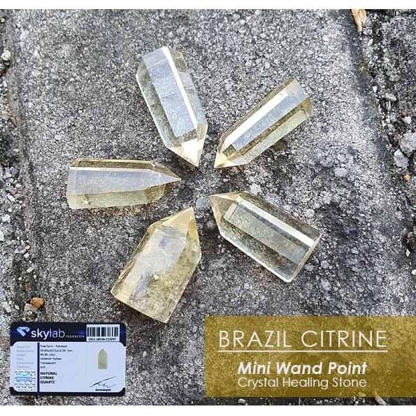 Foto Produk Crystal Healing Citrine Stone Premium (BC59) dari ViriyaShop
