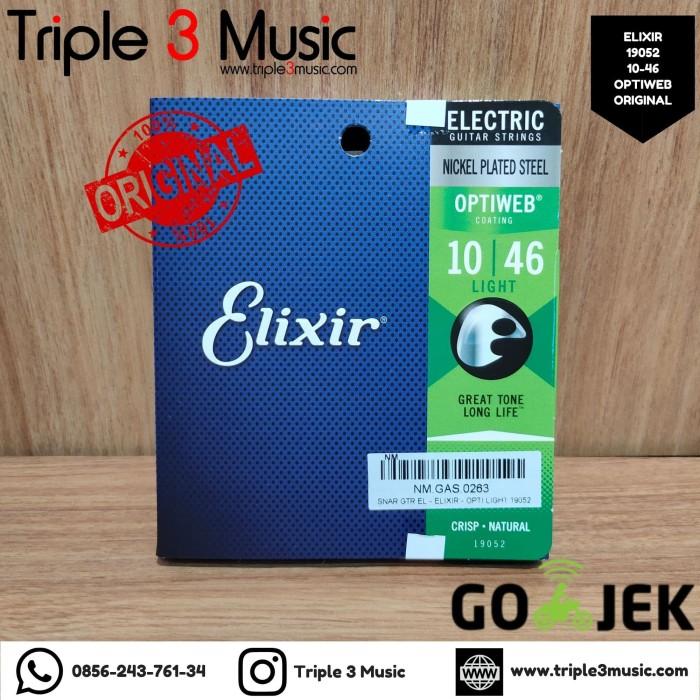 Foto Produk Elixir 19052 Optiweb ORIGINAL Senar gitar Elektrik 10-46 Triple3music dari triple3music