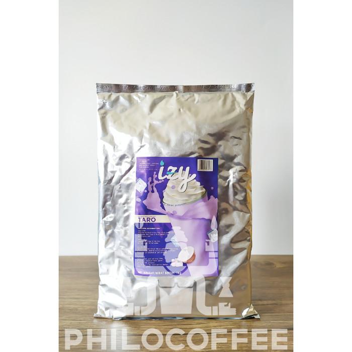 Foto Produk IZI Taro Frappe Premium 1kg   Bubuk Minuman Powder Drink dari Philocoffee