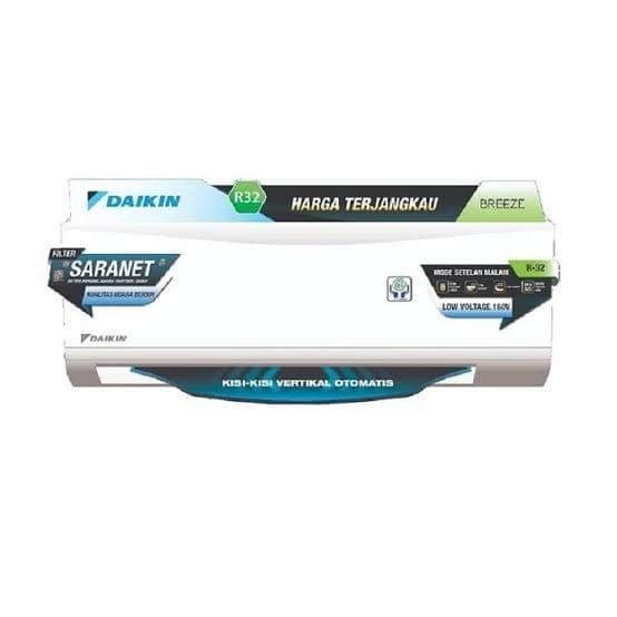 Jual Ac Split Wall Daikin Breeze 1  2 Pk Ftp15av - Kota Bandung