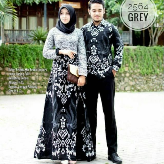 Foto Baju Batik Anak Modern Jual Baju Batik Couple Gamis Modern Anak Muda Kombinasi Broklat