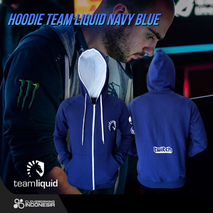 Foto Produk Borong Hoodie Team Liquid Official || Jaket Jumper Miracle Navi Secret dari Checkpoint Hamizan