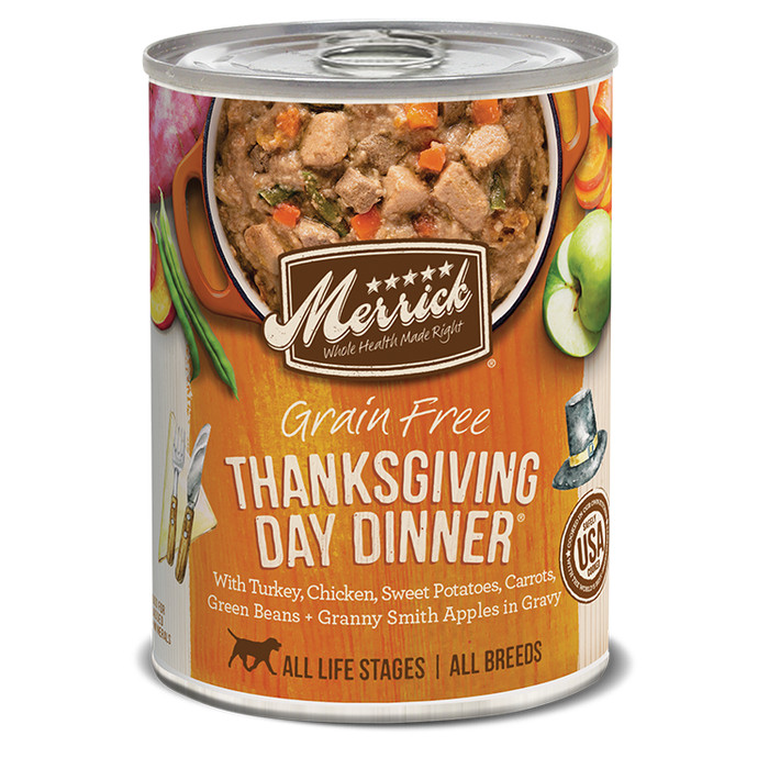 Foto Produk Merrick Grain Free THANKSGIVING DAY DINNER 12.7oz Canned Dog Food dari WOOF!
