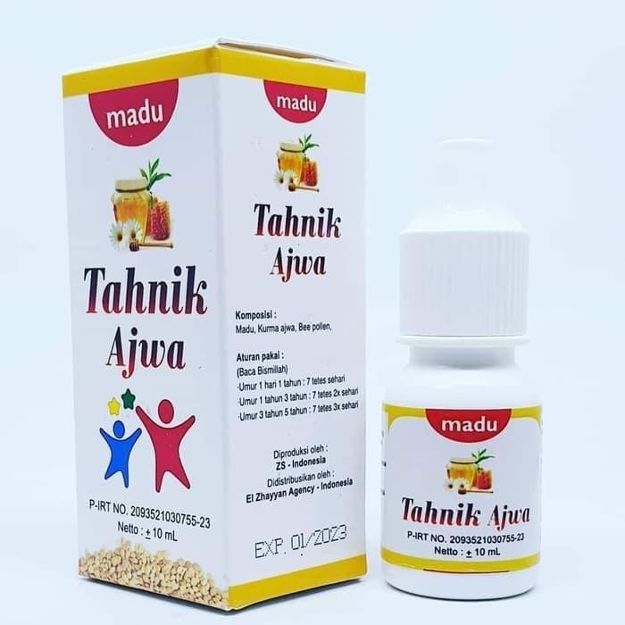 Foto Produk madu bayi balita TAHNIK AJWA EZA madu plus kurma ajwa dari Best Seller Herba
