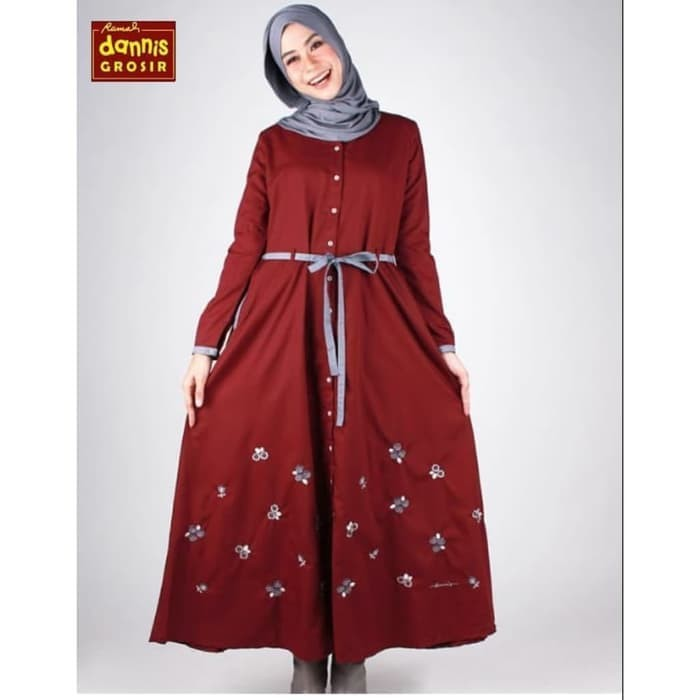 Jual Abaya Dannis Size Xl Abaya Arab Abaya Turki Gamis Remaja Gamis Polos Kab Bantul Toko Kartika Online Tokopedia