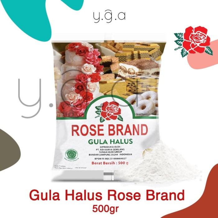 Foto Produk Gula Halus Tepung Gula Rose Brand 500gr dari Toko YGA