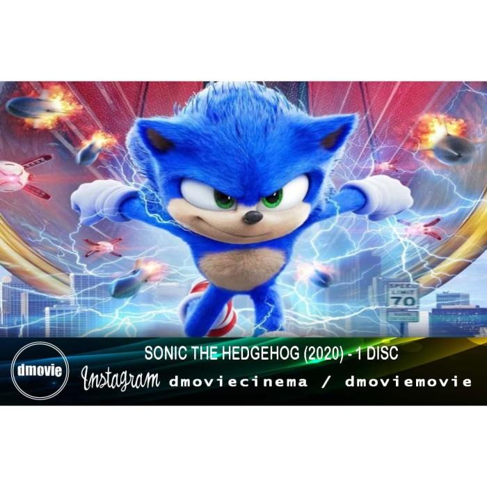Jual Sonic The Hedgehog 2020 Dvd Box Office Kota Pontianak Dmoviemovie Tokopedia