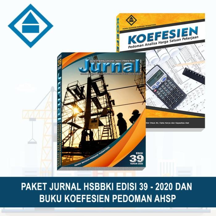 Foto Produk Paket Jurnal Bahan Bangunan Edisi 39-2020 & Buku Koefesien dari PANDU BANGUN