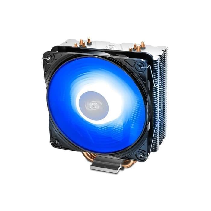 Foto Produk Deepcool Gammaxx 400 V2 Blue Fan 12CM LED CPU Cooler dari Flazz Computer Pekanbaru