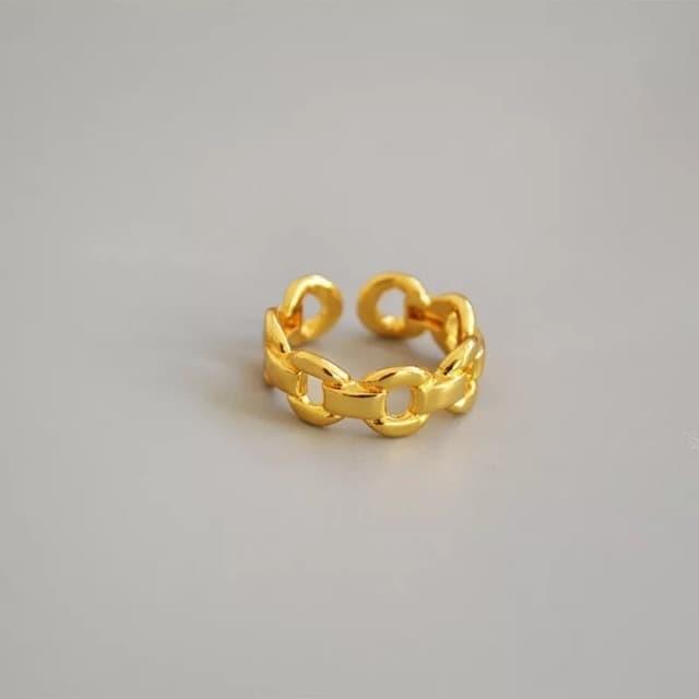 Foto Produk Dear Me - ZENA RING (Brass with 18k Gold Plated) dari Dear Me Jewelry