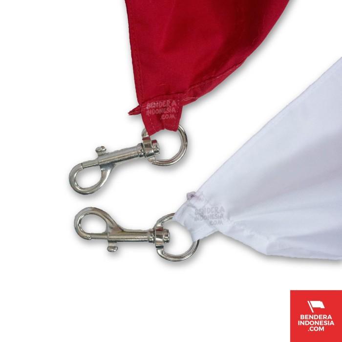 Foto Produk Pengait Catut Capit Bendera Merah Putih - Satu Pasang dari benderaindonesia(dot)com