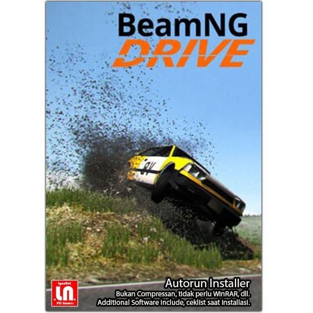 Jual Beamng Drive Pc Dvd Game Race Softcover Kota Bandung Lynxnet Tokopedia