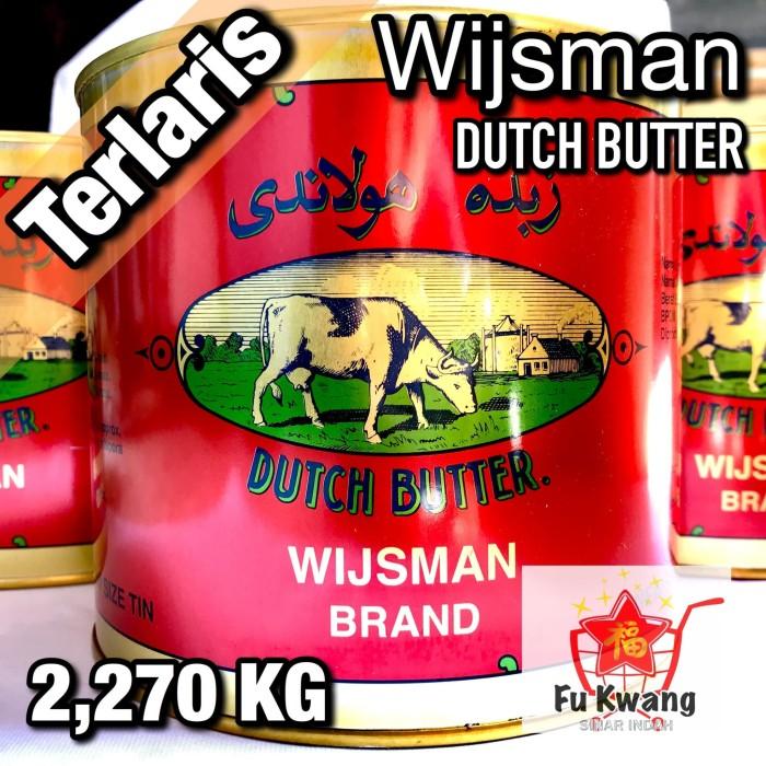 Foto Produk Mentega Wijsman Wyjsman Wisman Wysman Butter 2270 gram dari Fu Kwang Mart
