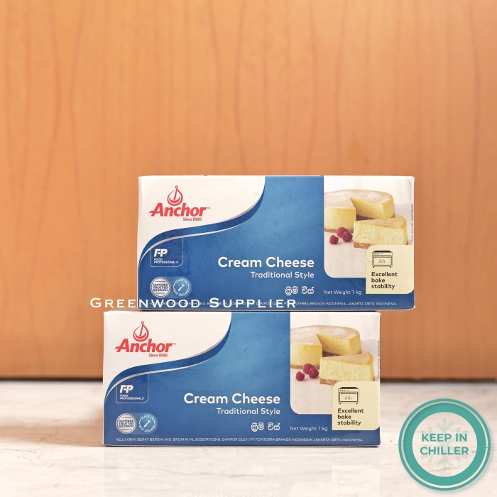 Foto Produk Cream Cheese Anchor 1kg dari Greeenwood Supplier