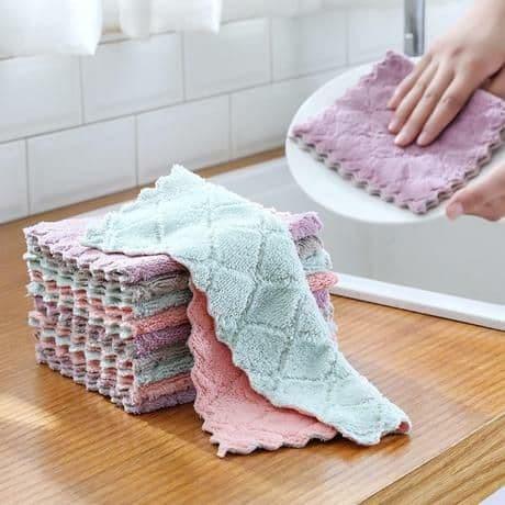 Foto Produk 27x17 Dish Towel, Lap Piring, Lap serbaguna, Kain Lap Anti Minyak - RANDOM dari Chikito