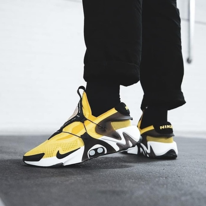 Jual Sepatu Nike Adapt Huarache Opti Yellow Premium Original Jakarta Selatan Afs Store Tokopedia