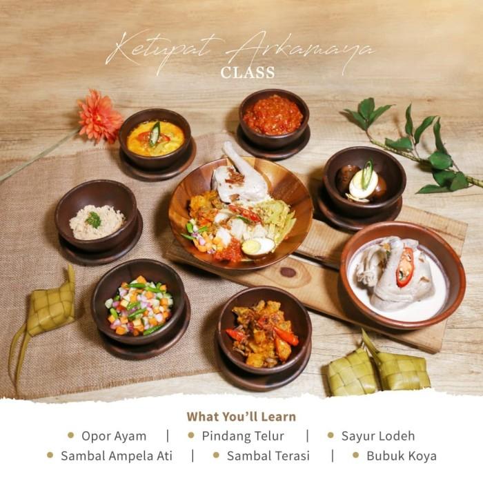 Foto Produk [Single Class] Online Cooking - Ketupat Arkamaya Class dari Arkamaya Culinary