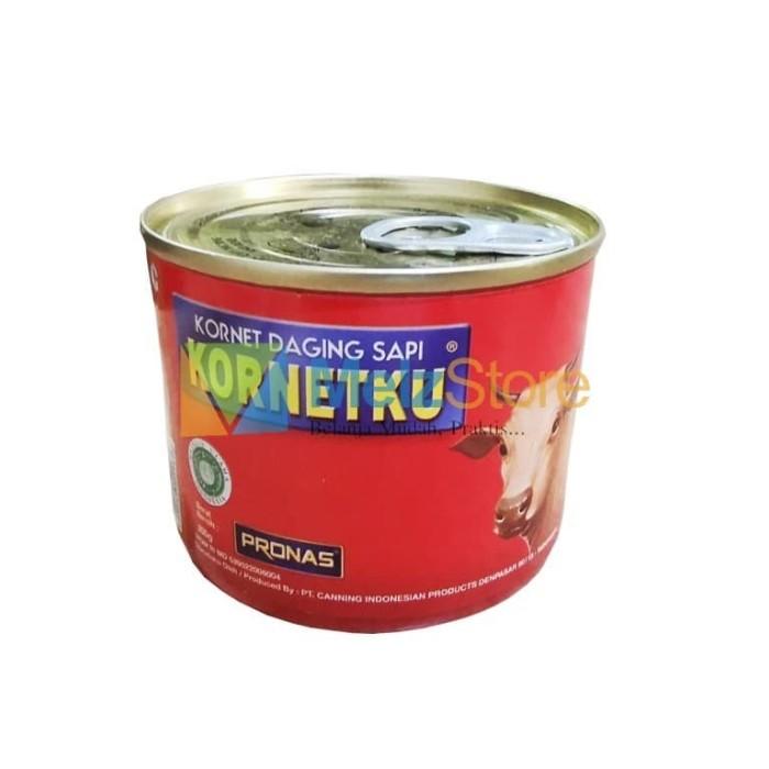Foto Produk Pronas KORNETKU Corned Beef Kornet Daging Sapi 200gr dari MelzCorp