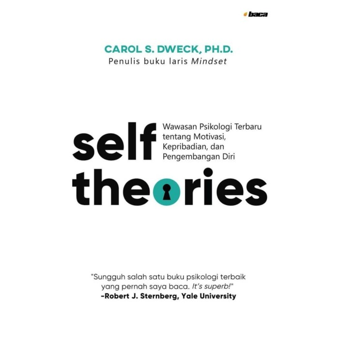 Foto Produk Self-Theories - Carol S. Dweck, Ph. D. - Baca dari Republik Fiksi