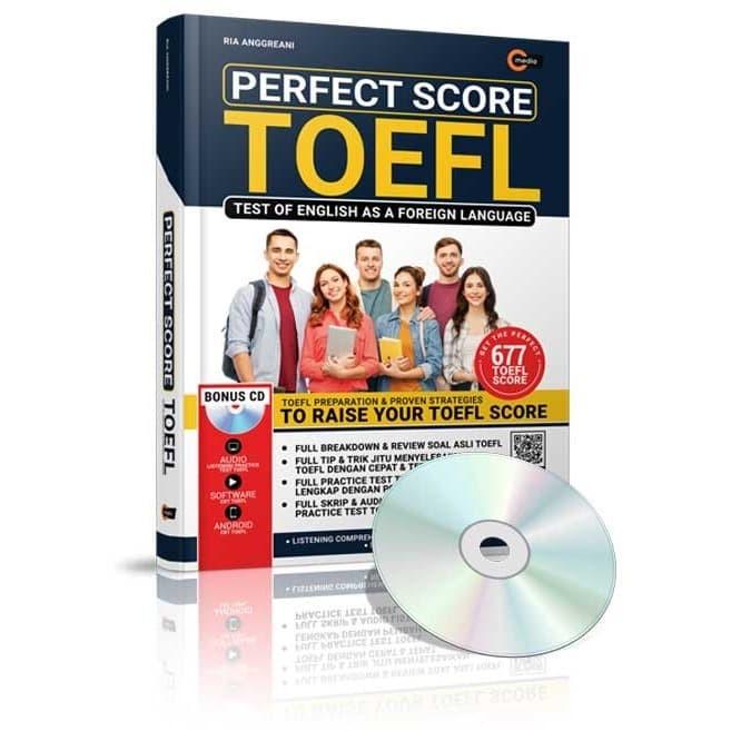Foto Produk Perfect Score TOEFL - Ria Anggreani - CMedia dari Republik Fiksi