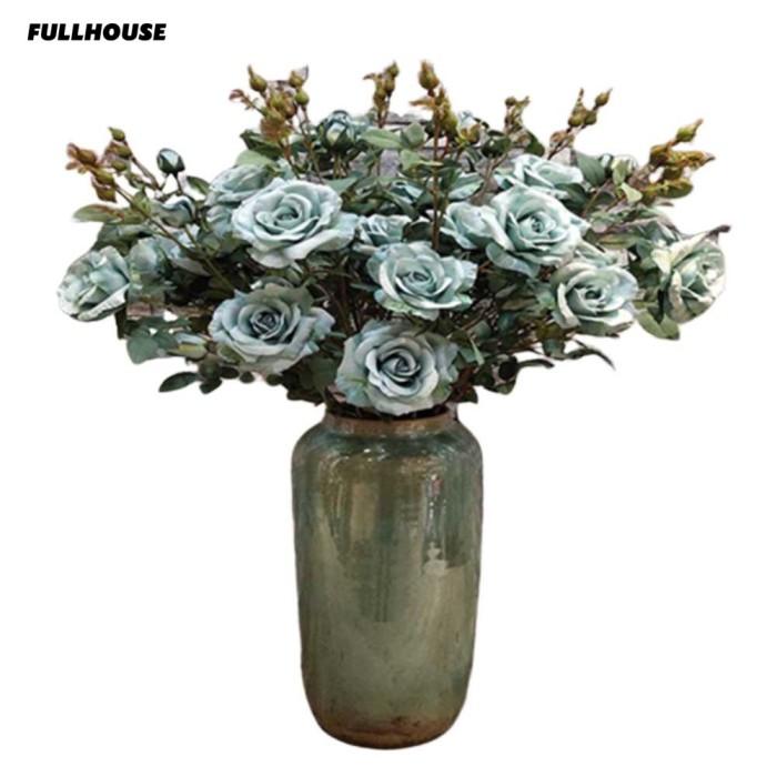 Jual Vas Bunga Mawar Buatan Dengan Bahan Kain Untuk Hiasan Dekorasi Rumah Kota Bandung Social Bandung Tokopedia