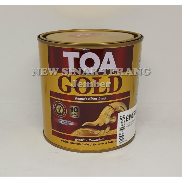 Foto Produk Cat TOA Gold GW555 1 Liter WATER BASED (Wil Sumsel Lampung Jawa Bali) dari New Sinar Terang
