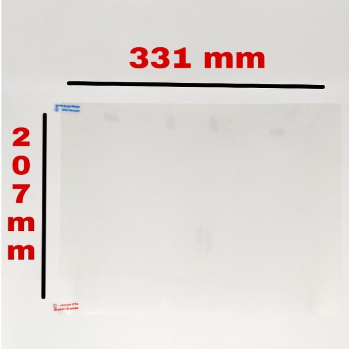 Foto Produk SKU-1156 SCREEN PROTECTOR 15.4 INCH 331x207 MM SCREEN GUARD ANTI GORES dari BELVA STORE ONLINE