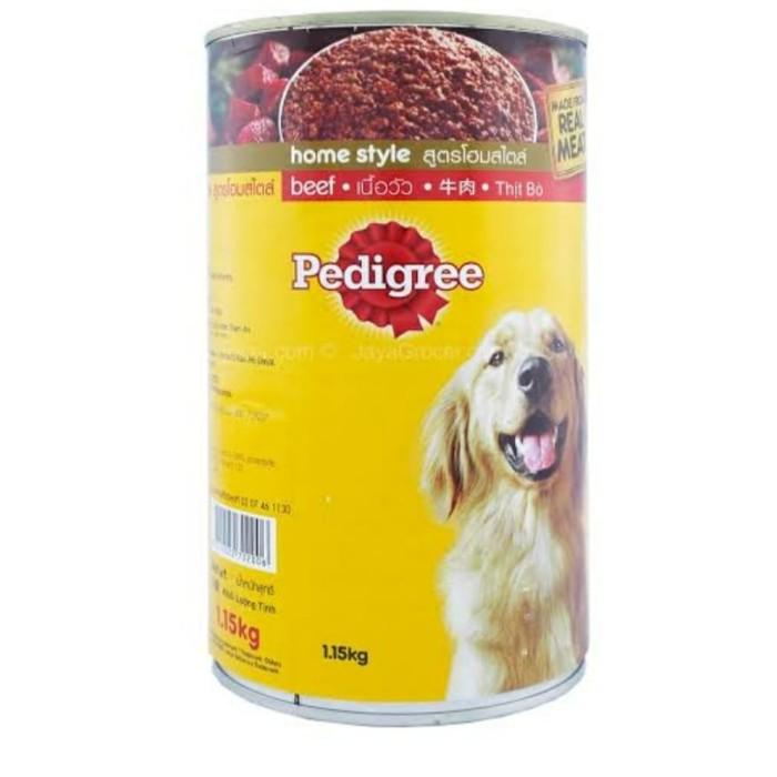 Foto Produk Dog food pedigree beef 1.15kg wet food dari haagenpetshop