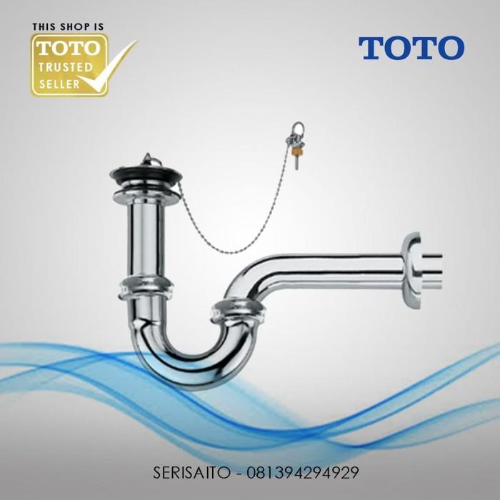 Foto Produk Sifon Wastafel TOTO TX709AN / Pembuangan Washtafel Leher Angsa dari serisaito
