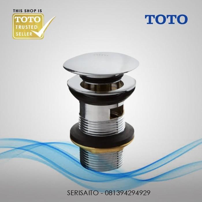 Foto Produk Sifon Afur Pop Up TOTO T6JV6 / Avur Pembuangan Wastafel Washtafel dari serisaito