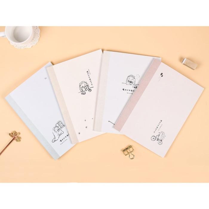 Foto Produk Warm Afternoon Ruled Notebook B5 / Buku Tulis B5 / Buku Catatan B5 dari Pinkabulous