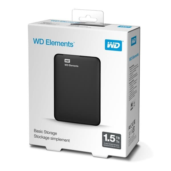 """Foto Produk Harddisk WD Element 1.5TB - HD HDD Hardisk Eksternal WD 1.5 TB 2.5"""" dari PojokITcom Pusat IT Comp"""