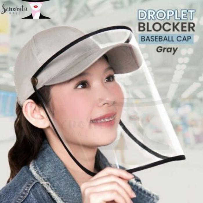Foto Produk Face Shield Protector Topi Corona Anti Droplet dari Data Belanja