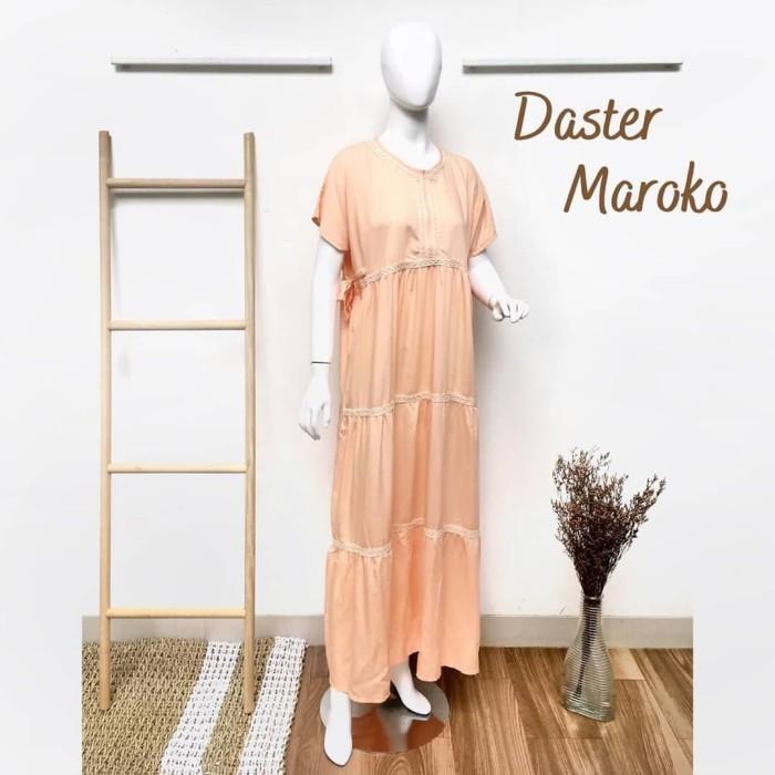 Foto Produk Daster Maroko by Daster Fifi - Salmon dari Mabel's shop