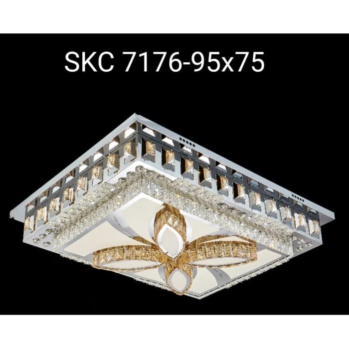 Jual 7176 95x75 Lampu Plafon Kristal Hias Dekorasi Ruang Tamu Mewah Jakarta Barat Fashion Lite Tokopedia